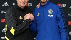 Де Хеа наскоро продължи договора си с Юнайтед.