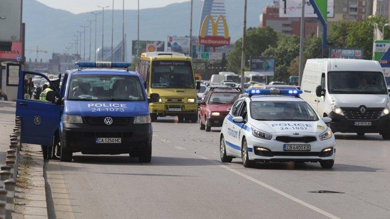 """Моторист е загинал в катастрофа на """"Цариградско шосе"""""""