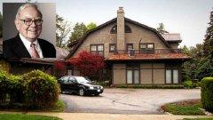 В този скромен дом, закупен през 1958 година, живее Уорън Бъфет
