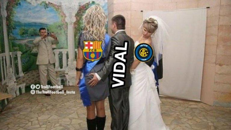 Барселона съблазни и Артуро Видал.