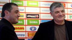Димитър Борисов обяви, че Титан може да се отдръпне от управлението на ЦСКА