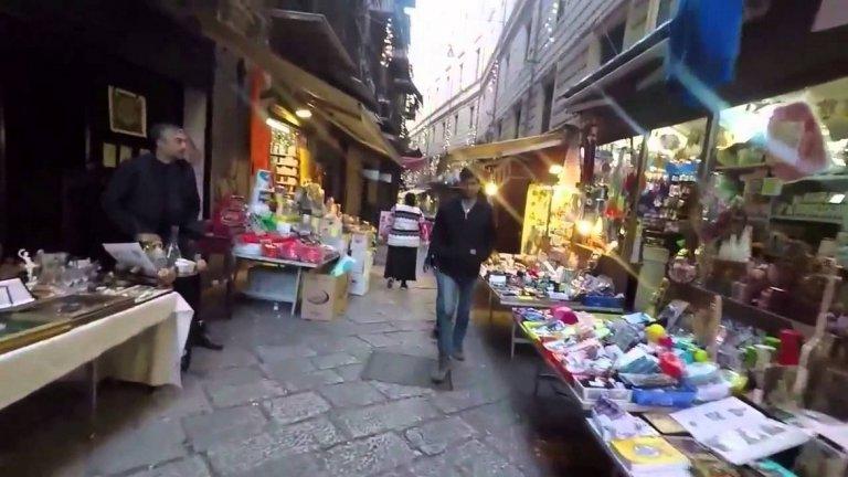 Пазарът в Палермо, който държавата иска да измъкне от мафията