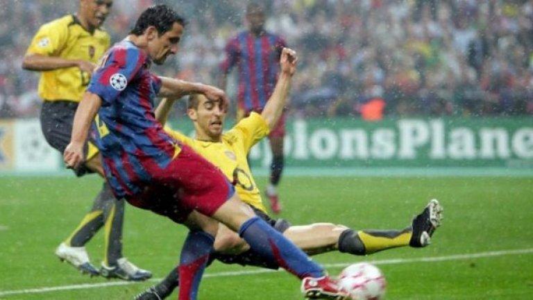 Жулиано Белети (2004-07) Стабилен защитник, който остава в историята с гола си на финала на Шампионската лига срещу Арсенал през 2006 г.