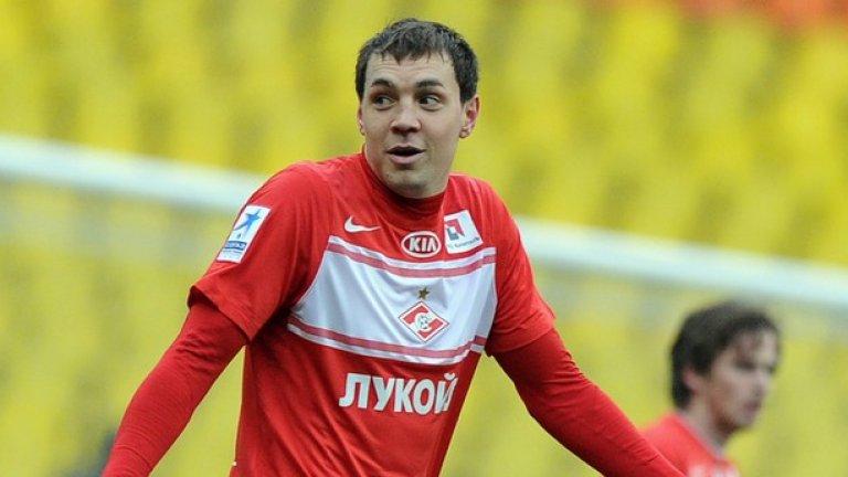 Артьом Дзюба (Русия). Шест гола в Шампионската лига и още толкова в евроквалификациите. Кариерата му тръгна рязко нагоре след преминаването си в Зенит.
