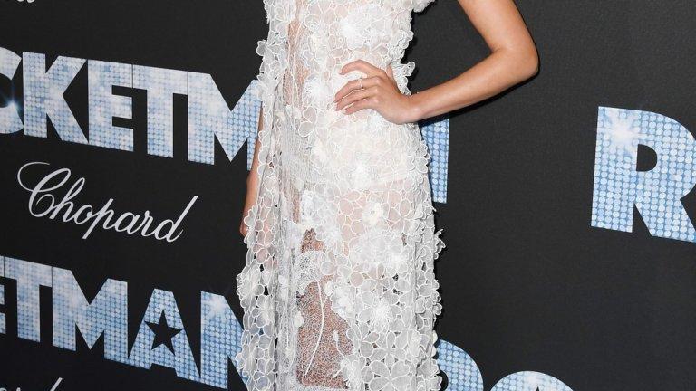 Ангелът на Victorias Secret Тейлър Хил се старае да е на ниво за ангелската титла.
