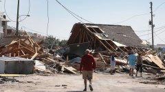 """Най-малко седем са загиналите в САЩ след урагана """"Майкъл"""""""