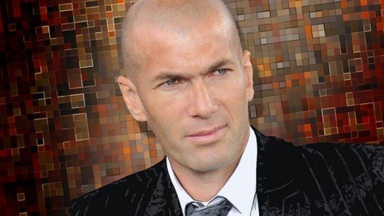 """Зинедин Зидан. Един от най-великите футболисти в историята и настоящ треньор на Реал Мадрид не се докосва до цигари и алкохол. Напълно е предан на исляма. """"Във всеки човек има нещо свещено. Не бива да го забравяме. Не разбирам как човек може да живее без религия""""."""