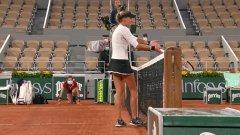 Нужен ли е ВАР и в тениса? Кики Младенович шокирана от отсъждане на съдийката на стола (видео)