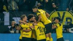Борусия съкруши Байерн във вълнуващо дерби и натрупа 7 т. пред шампиона