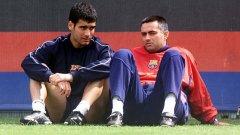 Джосеп Гуардиола и Жозе Моуриньо работеха заедно в Барселона преди 20 години. Единият като футболист, а другият като треньор...