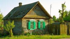 В руската провинция остават само бабичките в своите дървени къщички, заети със зеленчуковите си градини...