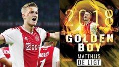 Наградата Golden Boy се връчва на най-добрия млад талант в Европа до 21 години.