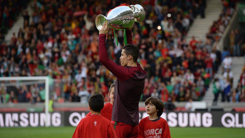 8. Португалия – 656 млн. евро Най-скъп футболист: Кристиано Роналдо (Реал Мадрид) – 103,5 млн. евро, 16% от общата стойност на отбора