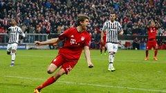 Мюлер отбеляза само 5 гола през миналата кампания.