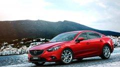 Mazda 6 направи официалния си дебют на автомобилното изложение в Москва