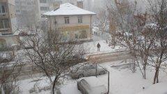 25 см сняг в София