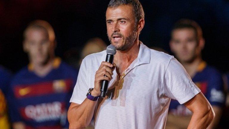 Луис Енрике, отказал се на 34 г. Същото важи и за треньора на Барселона Луис Енрике.