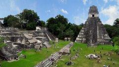 Градове като Тикал сега са единствено туристическа атракция