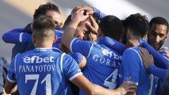 С успеха възпитаниците на Делио Роси продължава без допуснат гол от началото на сезона като домакин.