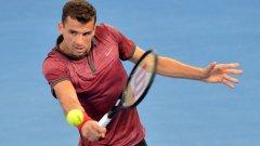 Григор очаква Федерер на полуфиналите.