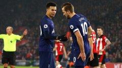 """Откакто Гарет Саутгейт застана начело на """"трите лъва"""", Англия отбеляза 71 гола в 28 мача с Кейн и само 16 в 13 без него."""