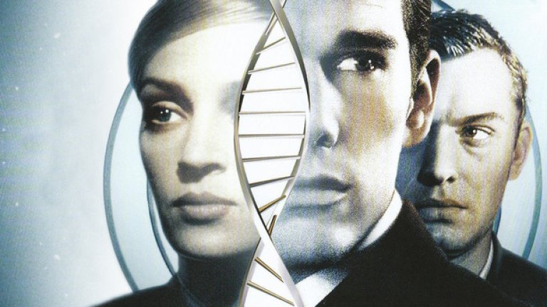 """""""Гатака"""" е предупреждение за силата на науката и стремглаво напредващите технологии в най-добрите традиции на научно-фантастичния жанр и още през 1997-а адресира актуалния въпрос за дизайнерските бебета и етиката в генетиката."""