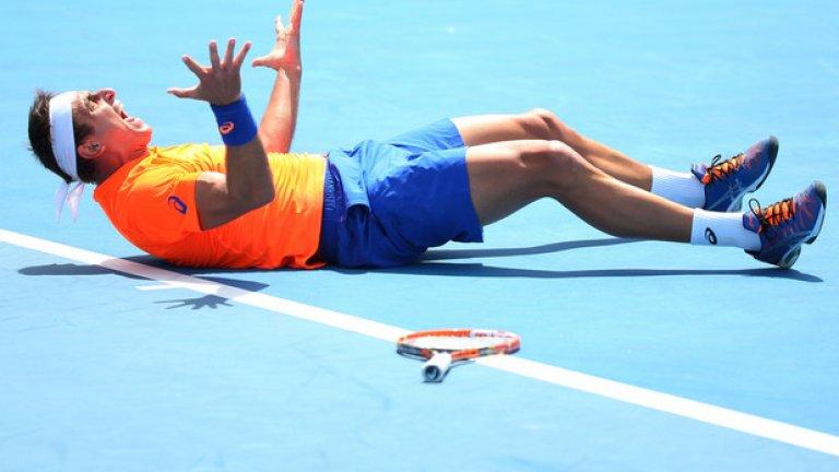 Друг австралиец - Маринко Матошевич, лудее след успеха му в първия кръг над руснака Александър Кудрявцев.