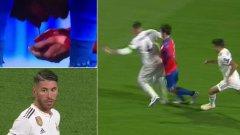 """""""Футболът винаги те учи на нещо и тази вечер не трябваше да влизам в това единоборство по такъв начин. Милан, нямах намерение да те нараня. Оправяй се бързо"""", написа защитникът на Реал в Twitter."""