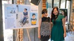 """Деси Нико (вдясно) и Десислава Василева, чиято история е част от """"Книга за истинската красота""""."""