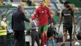 Роналдо даде положителната проба по време на лагера на националния отбор.