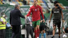 Треньорът на Португалия Фернандо Сантош: Кристиано е добре и иска да играе