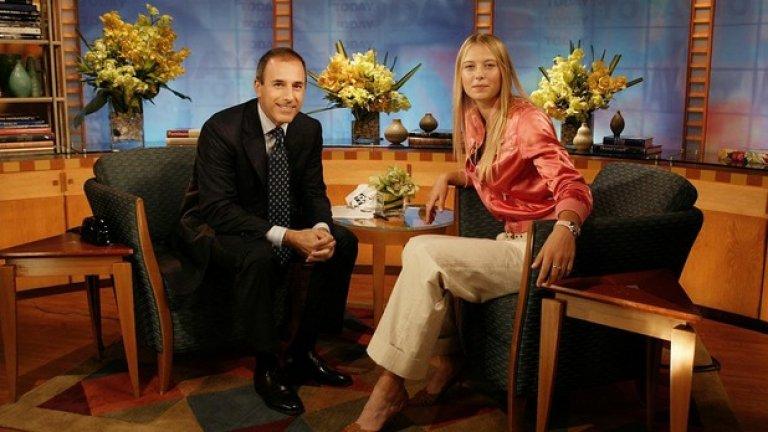 В шоуто на Мат Лауър, 2004 г.