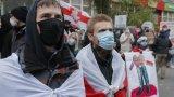 Демонстрациите бяха в памет на убития от полицията активист Роман Бондаренко