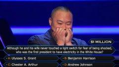 """Дейвид Чaнг постигна исторически успех в американското шоу """"Кой иска да стане милионер"""""""