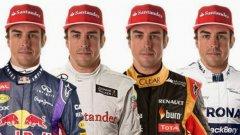 Бъдещето пред Фернандо Алонсо остава неясно, въпреки че вече отпадна възможността той да отиде в Red Bull