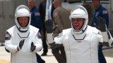 Лошото време отложи историческото изстрелване на астронавти от Space X в Космоса