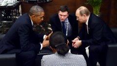 Анализаторите видяха първи сигнали за разчупване на леда между двамата президенти след влошаването на отношенията между двете страни заради кризата в Украйна и началото на руската операция в Сирия.