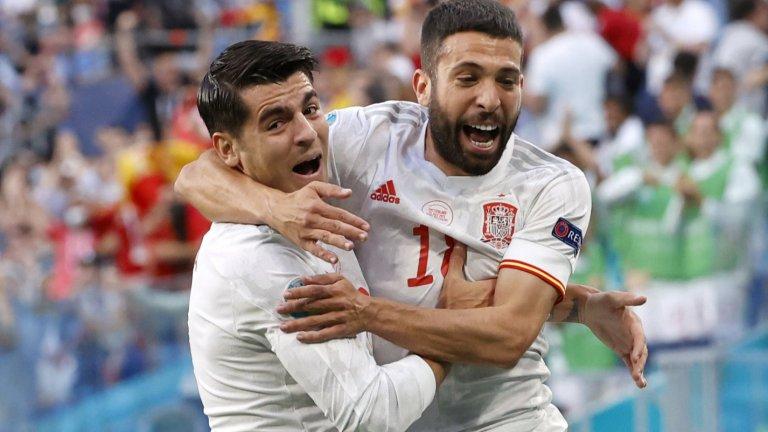 Още една страхотна драма на Евро 2020 и Испания е на полуфинал!