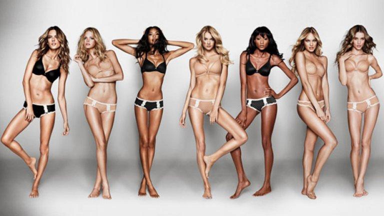 """Перфектното тяло се оказва перфектния скандал   През 2014 г. Victoria's Secret пускат линия бельо, която простичко се казва Body (""""Тяло""""). На рекламния плакат във Великобритания върху съвършените тела на манекенките на марката стои надписът """"The Perfect Body"""".   Играта на думи остава неразбрана, а вместо това брандът е нападнат от орди разярени феминистки, които смятат за обидно единствено фигурите на """"ангелите"""" да бъдат смятани за перфектни. Критиките са толкова оглушителни, че VS бързо свалят всички билбордове и сменят изцяло слогана на кампанията."""