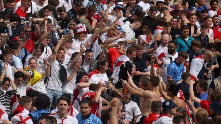 УЕФА ще разследва Англия заради изцепките във финала