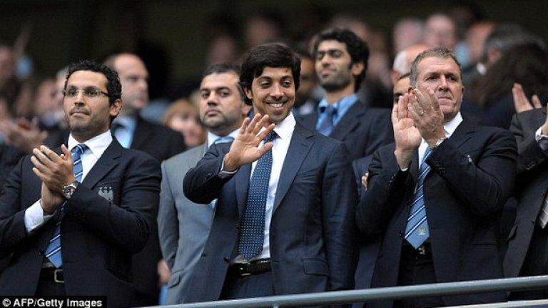 Шейх Мансур, Манчестър Сити - Хит Няма как да е другояче. Мансур дойде през 2008-а и промени съдбата на клуба, който не бе ставал шампион от 1968-а. Бяха спечелени две титли от Висшата лига, две Купи на Лигата и ФА къп.
