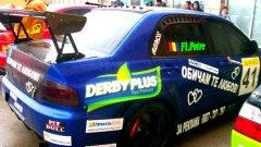 Флорентин Петре записа успешно състезание във Велико Търново с автомобил под наем. Снимка: rally-club.bg