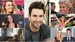 Вокалистът на Maroon 5 има влечение към жени от подиума. Ето и някои от бившите му: