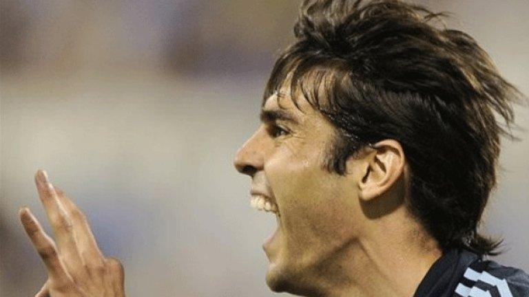 След 44 дни отсъствие бразилецът Кака се завърна с гол за Реал