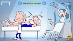 След скандала си с Ева Карнейро, Моуриньо сам се зае да лекува контузените си футболисти.