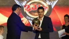 Георги Миланов е голямата надежда на футбола ни за следващите години.