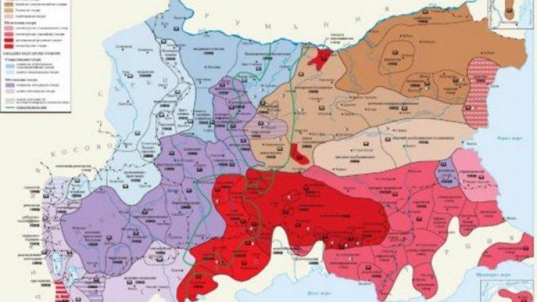 Картата на българските диалекти бе представена на пресконференция днес