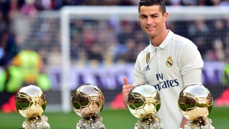 12 декември 2016 г. -  Златна топка 2016 Изпревари Меси в гласуването, за да получи четвъртия си трофей за футболист №1 в света.