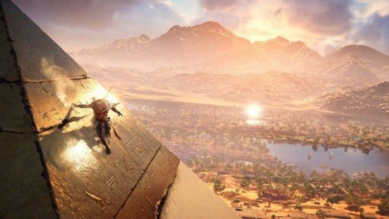 Assassin's Creed: Origins е сред най-красивите игри в момента и е уникална гледка в 4K. Но тя е налична и за компютър, и за PS4. На новия Xbox му липсват големите ексклузивни заглавия, които може да играете само на него.