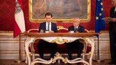 За пръв път Зелените влизат във властта в Австрия и за пръв път в кабинета има повече жени министри отколкото мъже